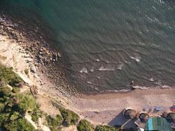 Punta Capezzolo beach, Castiglione della Pescaia, Maremma Italy