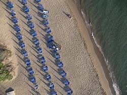 Riva del Sole beach, Castiglione della Pescaia, Maremma Italy
