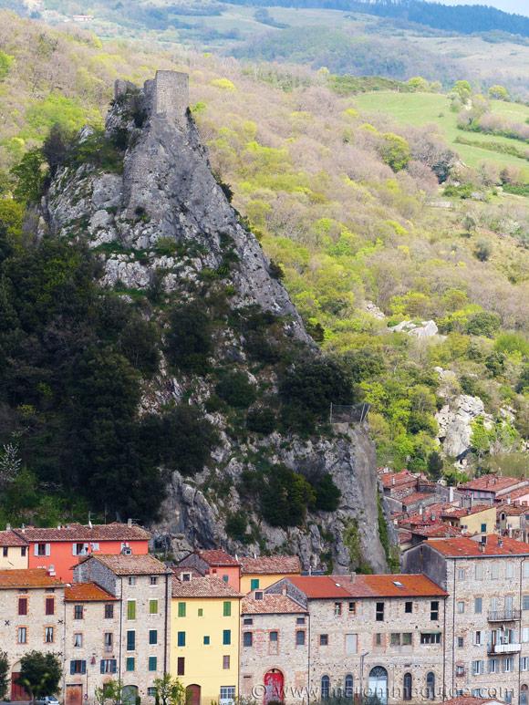 Rocca Aldobrandesca in Roccalbegna Tuscany Italy