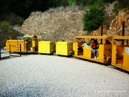 Parco Archeominerario di san Silvestro mine train Tuscany