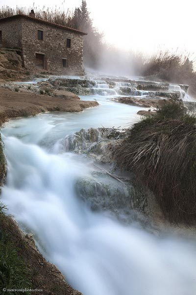 Terme di Saturnia falls: spa in Tuscany