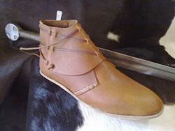 Shoes medieval from Maremma Tuscany Italy