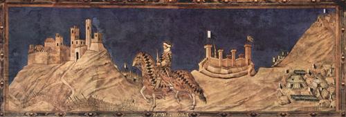 Guidoriccio da Fogliano all'assedio di Montemassi