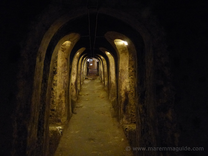 Sorano Tuscany open cellar festival.
