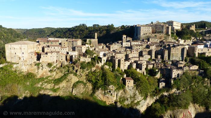 Sorano Tuscany Italy