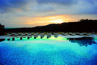 Spa in Tuscany: Petriolo Spa Resort
