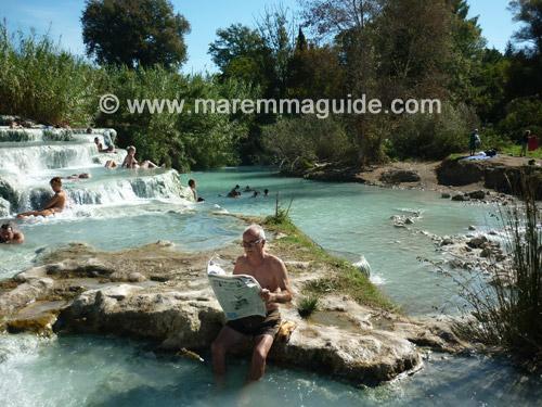 Spa in Tuscany: Saturnia Maremma Italy