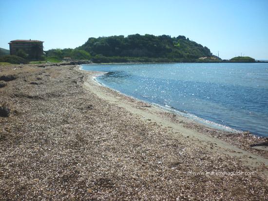 Spiaggia Fertilia Talamone kitesurfing & windsurfing beach Maremma Tuscany