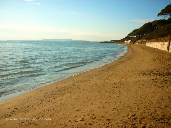 Spiaggia Il Boschetto, Ponente Follonica beaches Maremma Tuscany