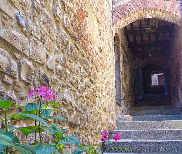 Medieval Tuscany street