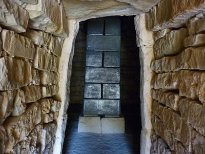 Tomba del Diavolini II: the Etruscan tomb of Diavolino in Vetulonia, Maremma, Italy