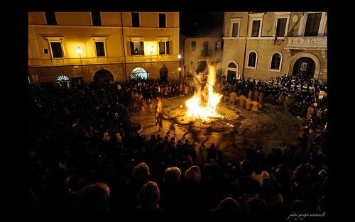 Torciata di San Giuseppe, Pitigliano: Eventi Maremma