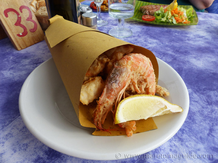 Tuscany beach restaurant in Maremma