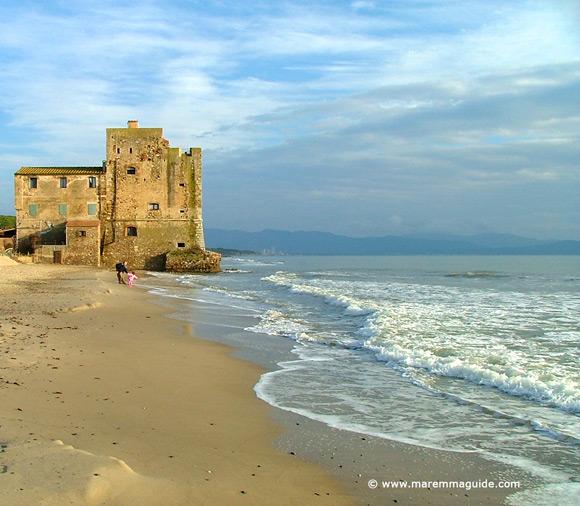 Tuscany castles in Maremma: Torre Mozza