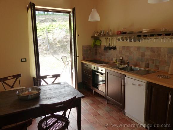 Tuscany cottage kitchen.