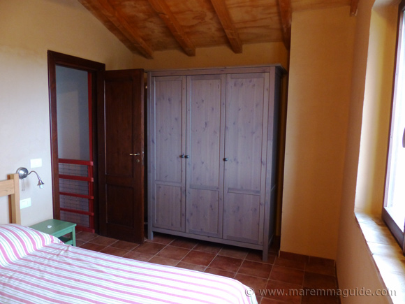 Poggio La Croce bedroom.