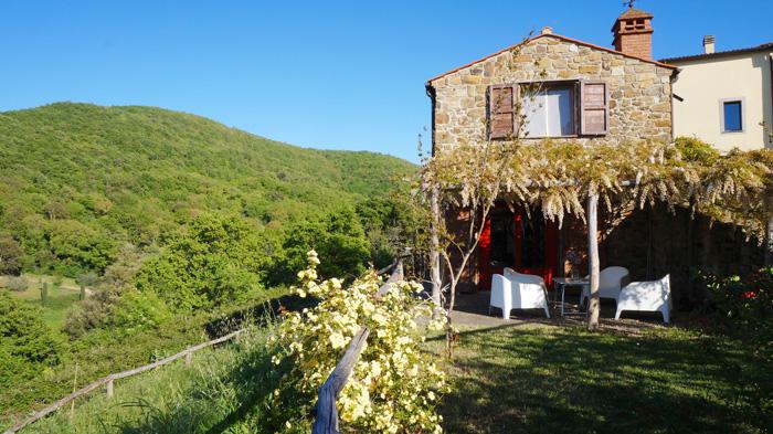 Vacation rentals in Tuscany Italy.