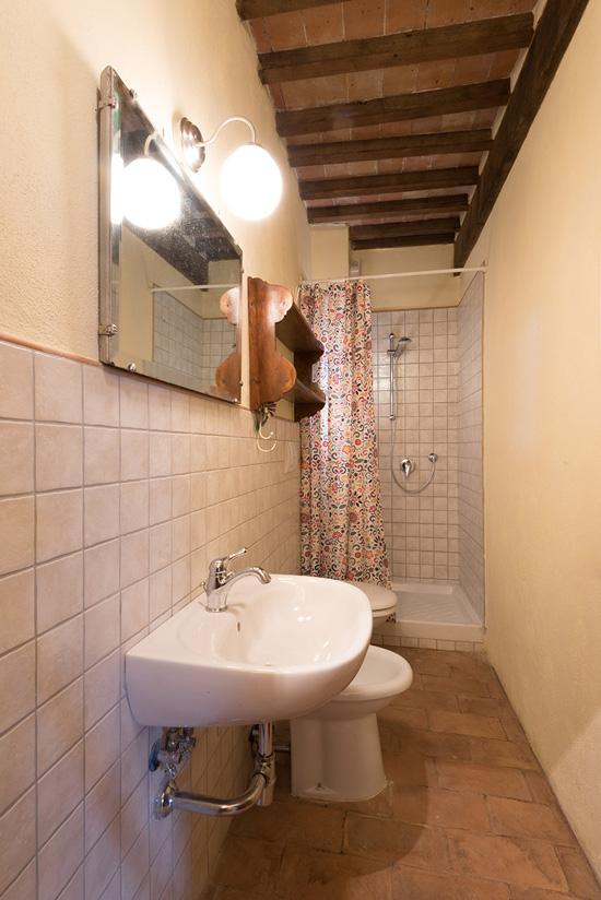 Montelaterone apartment for sale: bathroom.