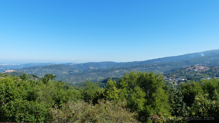 View of the foothills of Monte Amiata in Maremma.