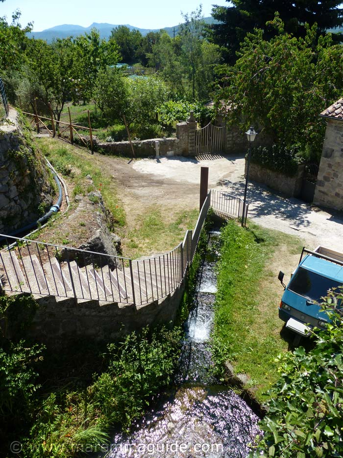 Tuscany water mill for sale.