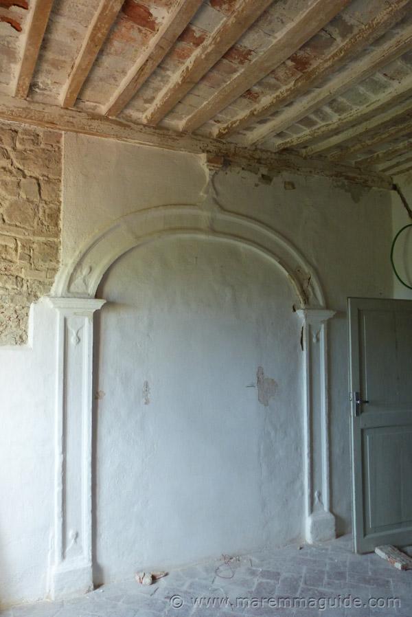 Tuscany restoration project Italy.