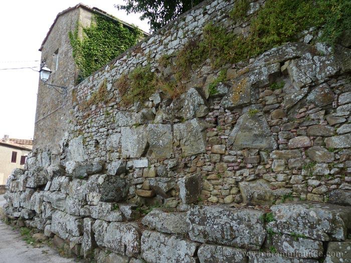 Vetulonia: Mura dell'Arce