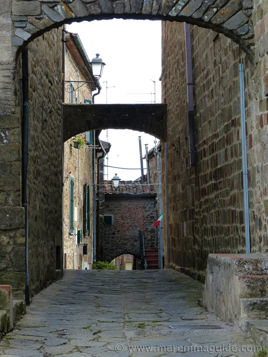 Medieval Vetulonia Italy