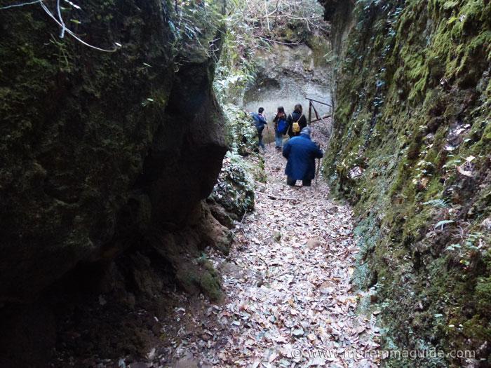 Trekking the Vie Cave in Maremma Toscana