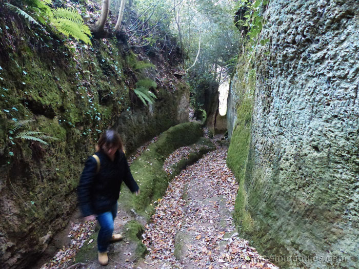 Vie Cave Etruschi Toscana
