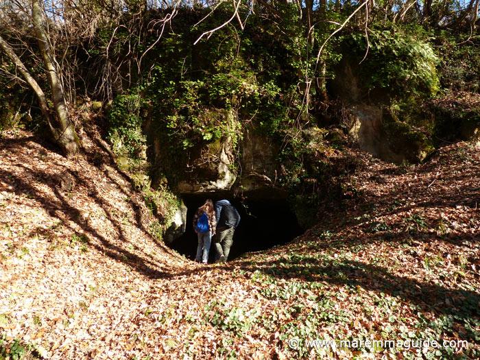 Vitozza Tuscany's lost underground city.