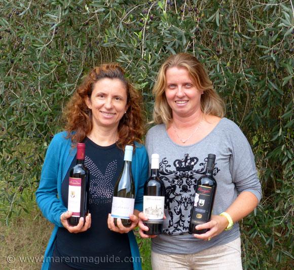 Women winemakers in Maremma: Carrareccia winery Tuscany
