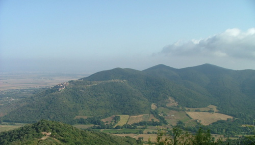 View of Maremma Grossetana