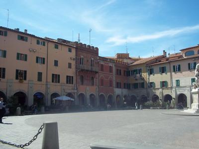 Piazza Grosseto Tuscany Italy