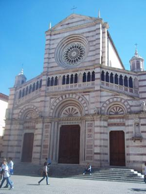 Grosseto duomo (cathedral), Tuscany Italy