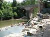 At Petriolo Hot Springs.